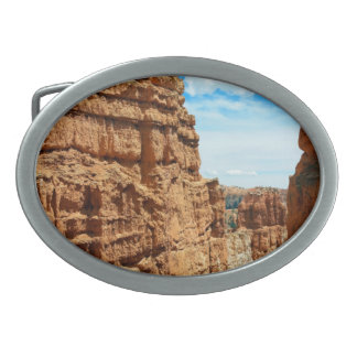 Wall street  Bryce Canyon National Park in Utah Oval Belt Buckle