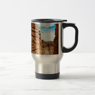 Wall street  Bryce Canyon National Park in Utah Travel Mug