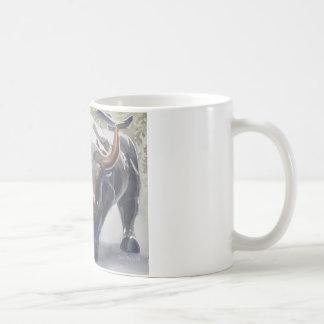 Wall Street Bull by Paul Jackson Coffee Mug