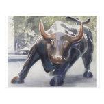 Wall Street Bull de Paul Jackson Postal