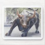 Wall Street Bull de Paul Jackson Alfombrilla De Ratón