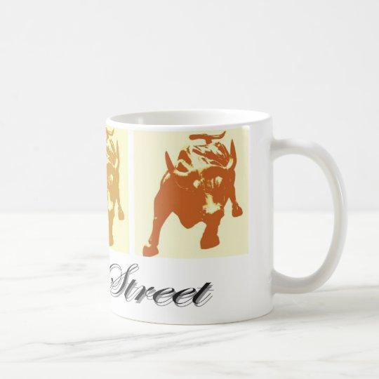 Wall Street Bull Market Coffee Mug