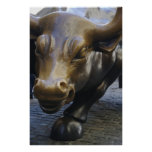 Wall Street Bull Posters