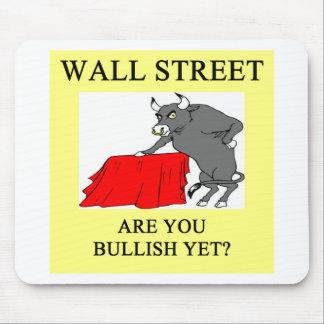 wall street bullish yet mouse pad