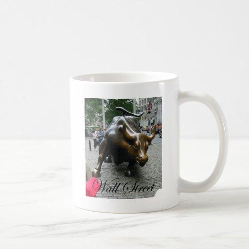 Wall Street Classic White Coffee Mug