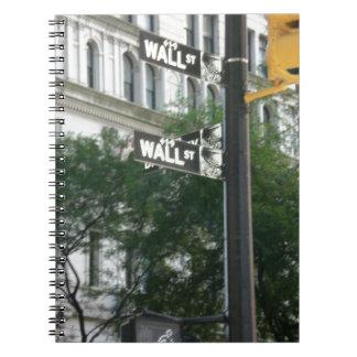Wall Street Libretas Espirales