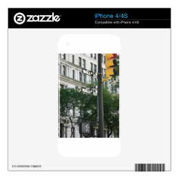 Wall Street Decals For iPhone 4