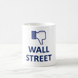 WALL STREET DISLIKE COFFEE MUG