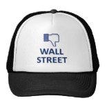 WALL STREET DISLIKE TRUCKER HAT