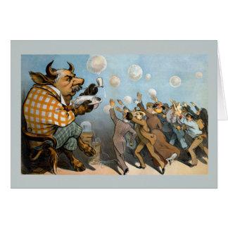 Wall Street Dreams - Bull Market and J. P. Morgan Card