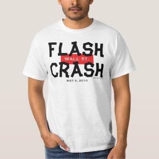 Wall Street Flash Crash May 6 2010 T-Shirt 1