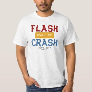 Wall Street flash desplome camiseta 2 del 6 de Poleras