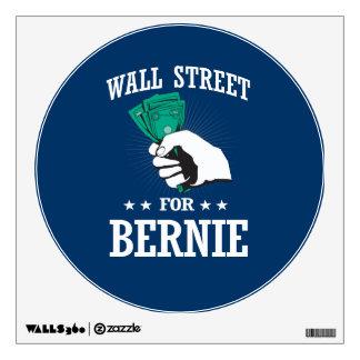 WALL STREET FOR BERNIE SANDERS WALL STICKER