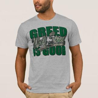 Wall Street/ Greed is Good T-Shirt