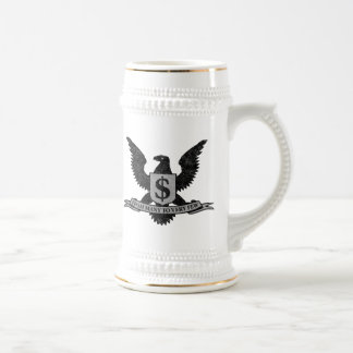 Wall Street Greed Seal Beer Stein