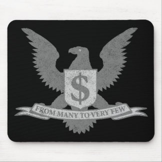 Wall Street Greed Seal Mouse Pad