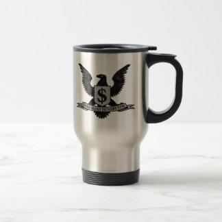 Wall Street Greed Seal Travel Mug