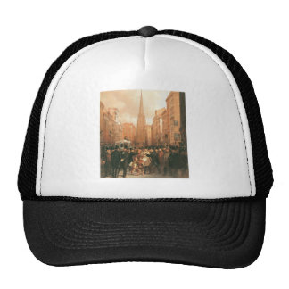 Wall Street, Half Past Two O'Clock c. 1857 Trucker Hat