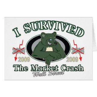 Wall-street/I Survived the Market Crash Card