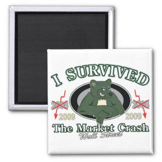 Wall-Street/I Survived the Market Crash Magnet