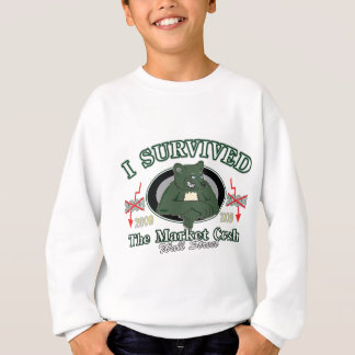 Wall-street/I Survived the Market Crash Sweatshirt