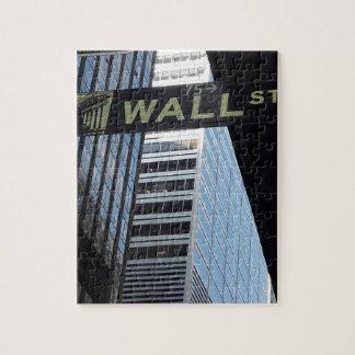 Wall Street Jigsaw Puzzle