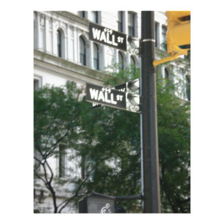 Wall Street Membrete A Diseño