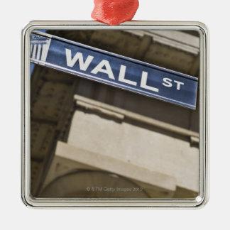 Wall Street Metal Ornament