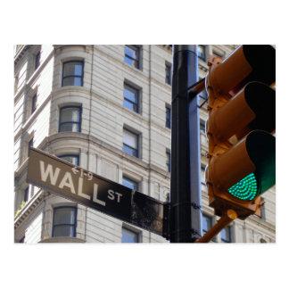 Wall Street NYC Postcard