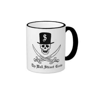 Wall Street Pirates Ringer Mug