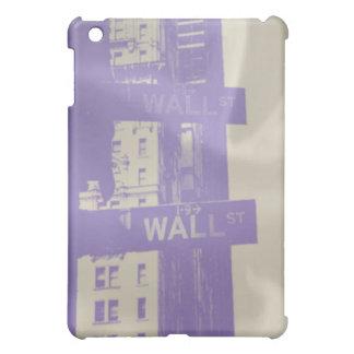 Wall Street Plate Photography iPad Mini Covers