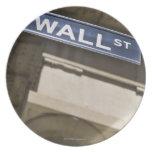 Wall Street Plato De Comida