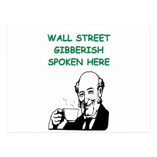 Wall Street Postales