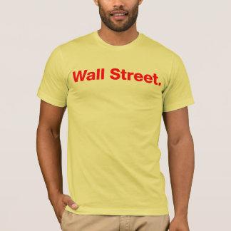 Wall Street (red) T-Shirt