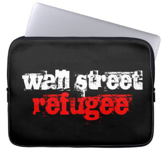 wall street refugee computer sleeves