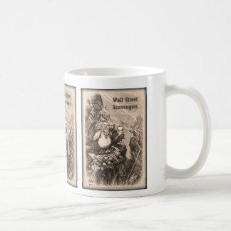 Wall Street Scavengers Coffee Mug