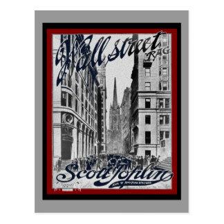 Wall Street Scott Joplin Postal