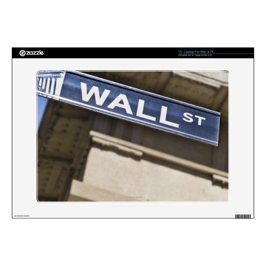 "Wall Street Skin For 15"" Laptop"