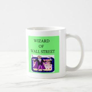 wall street stock ,market investor mug