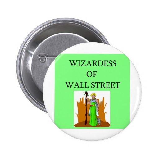 wall street stock ,market investor pins