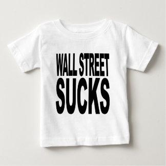 Wall Street Sucks Baby T-Shirt