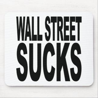 Wall Street Sucks Mouse Pad