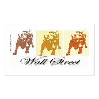Wall Street Tarjetas De Visita