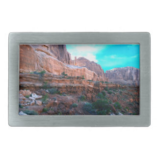 Wall Street trail Arches National Park Belt Buckle