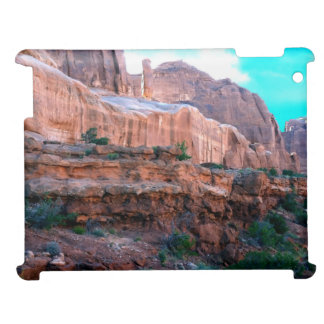 Wall Street trail Arches National Park iPad Case