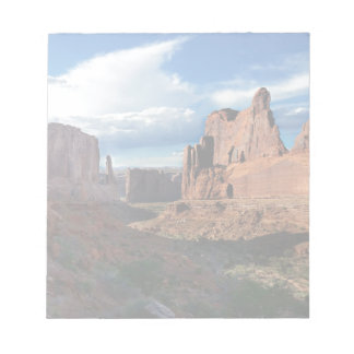 Wall Street trail Arches National Park Notepad