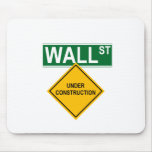Wall Street: Under Construction Mouse Pad