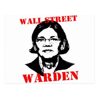 WALL STREET WARDEN POSTCARD