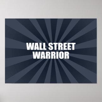 WALL STREET WARRIOR POSTER