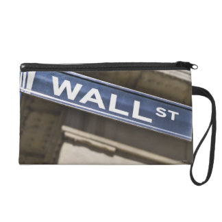 Wall Street Wristlet Clutches